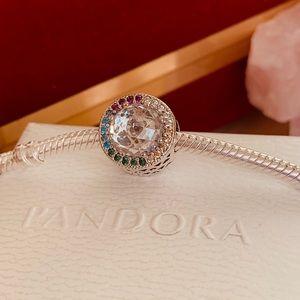 Pandora Radiant heart charm